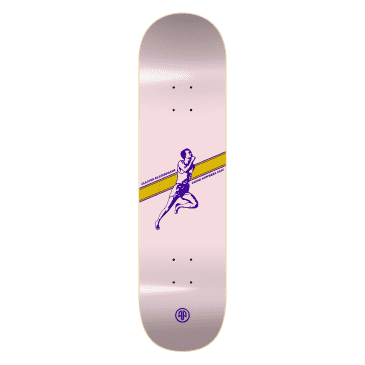 """Cleaver Skateboards - 8.0"""" Going Nowhere Fast Deck - Pink"""