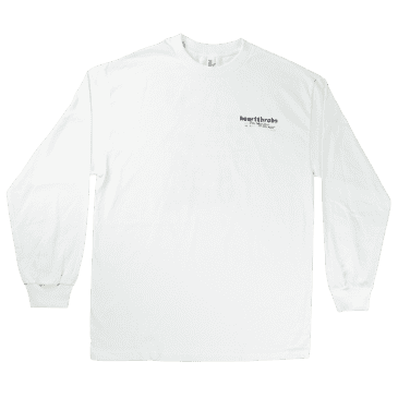 Heartthrobs This World Long Sleeve Tee White