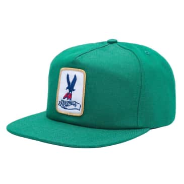 Fucking Awesome Snapback Hat Hawk Green
