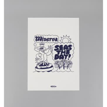 Minerva - Seas The Day Print