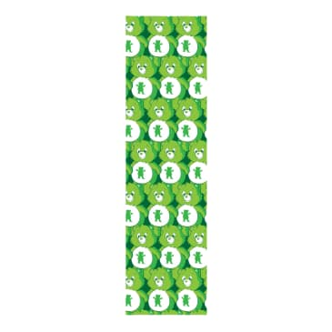GRIZZLY POSITIVE BEARS PRINT GRIP GREEN