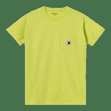 Carhartt WIP Women's Pocket T-Shirt - Limeade