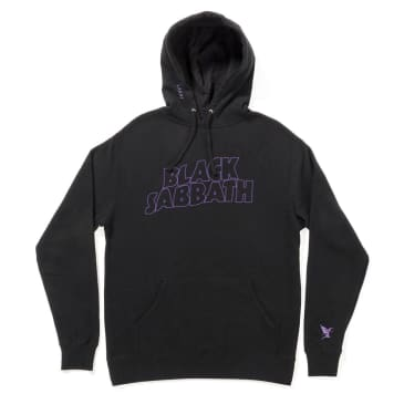 Lakai x Black Sabbath Master of Reality Hoodie - Black