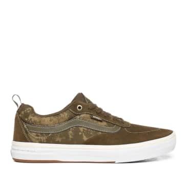 Vans Platoon Kyle Walker Pro Skate Shoes - Military / White