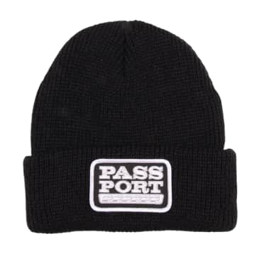 Pass~Port Auto Patch Beanie - Black