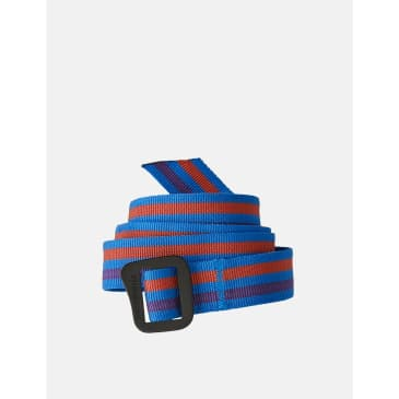 Patagonia Friction Belt (Fitz Roy Stripe) - Andes Blue