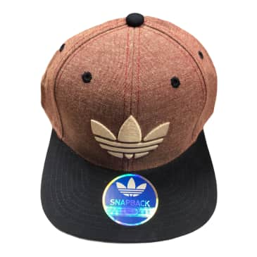 Adidas Ori Materialz Snapback Hat Washed Red/ Navy