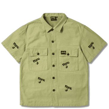 Stan Ray CPO Peace shirt - Olive Green