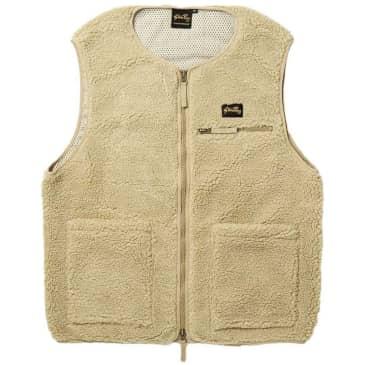 Stan Ray Fleece Liner Vest - Khaki Boa
