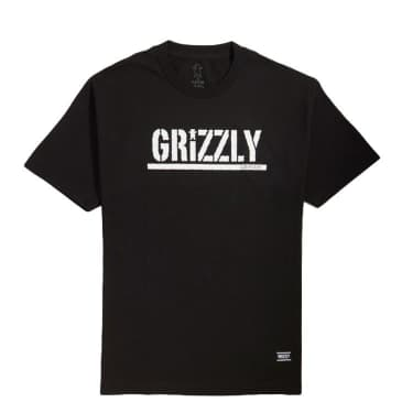 Grizzly Stamp T-Shirt - Black
