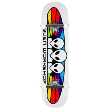 "Alien Workshop Spectrum White Complete 8.0"" (With Free Skate Tool)"