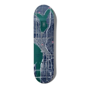 "Girl Skateboards Pin Point One Off Griffin Gass Skateboard Deck 8.5"""