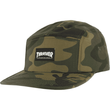 Thrasher - 5 Panel Cap - Camouflage