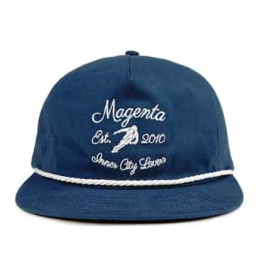 Magenta Club Hat - Navy