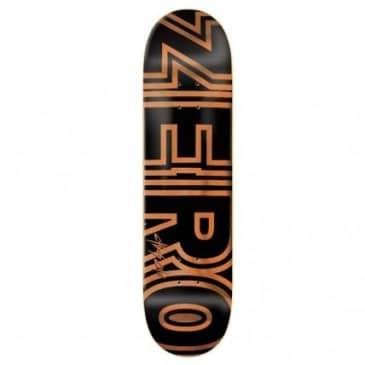 "Zero Skateboards Cole Signature Bold Skateboard Deck - 8.25"""