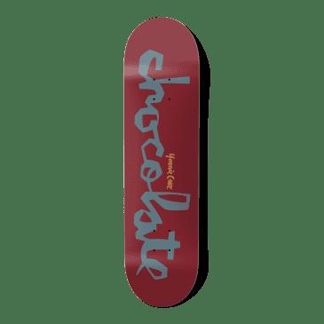 "Chocolate Original Chunk Yonnie Cruz Skateboard Deck - 8.125"""