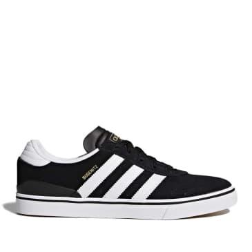 adidas Skateboarding Busenitz Vulc Shoes - Core Black / FTWR White / Core Black