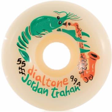 Dial Tone Wheel Co. Trahan Zydeco Skateboard Wheels 99a 55mm Conical
