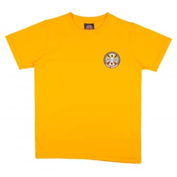 Independent Truck Co. Split Cross Youth T-shirt - Gold