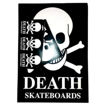 Death Skateboards Sticker Pack