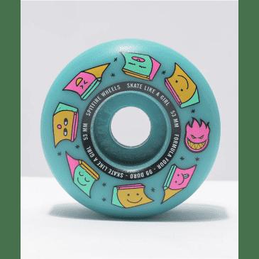 Spitfire - 99 Formula 4 Radial Skate Like A Girl Wheels (53mm)