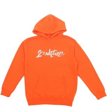 2nd Nature Graffiti Hoodie - Orange