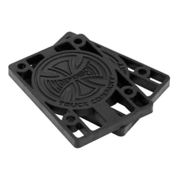 Independent Trucks Riser Pads Black - 1/8""
