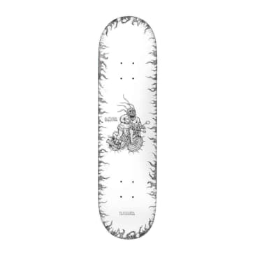 Baker Skateboards Baca Stipple Skateboard Deck - 8.25""