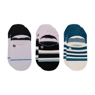 Stance Less Is More 3 Pack No Show Socks