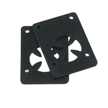 """Independent Genuine Parts Black Shock Pads - Set of Two (2) - 1/8"""""""
