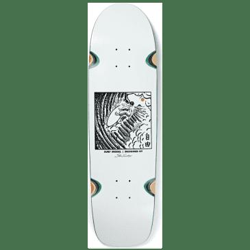 SHIN SANGONGI - FREEDOM WHITE - WHEEL WELL SURF JR. SHAPE
