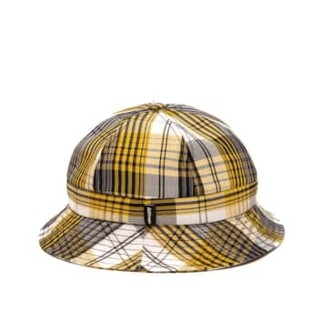 Alltimers Plaid Bucket Hat White
