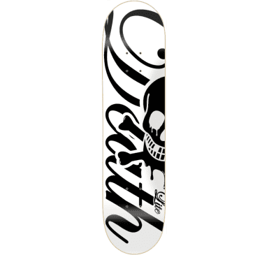 Death Skateboards Script Lite Deck | White | 7.75""