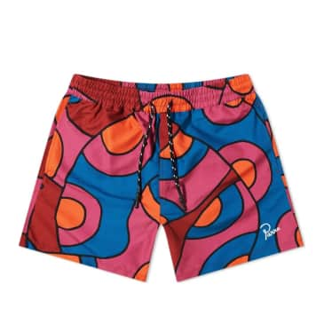 by Parra Serpent Pattern Swim Shorts - Multi