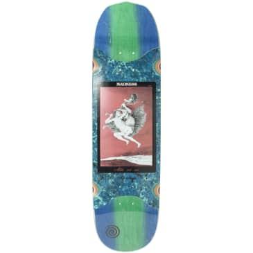 "Madness Skateboards - 8.5"" Alla Slick Skateboard Deck (Blue / Green)"