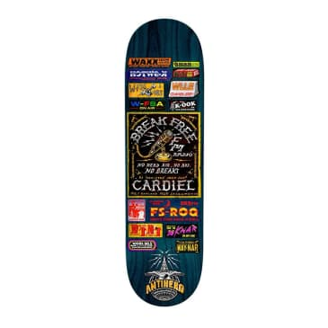 "Anti-Hero Cardiel Broadcasting 8.62"" Deck"