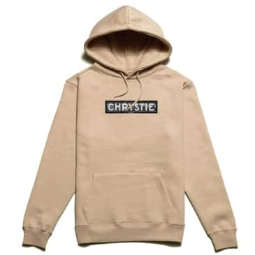 Chrystie NYC Station Logo Hoodie - Sand
