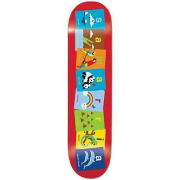 Enjoi Skateboards Samarria Brevard Flashcards R7 Skatebord Deck - 8.5