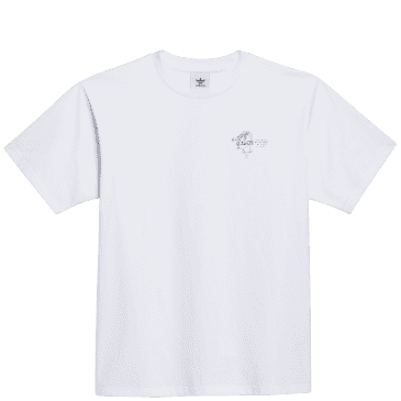 adidas Skateboarding The Answer Is Never T-Shirt - White