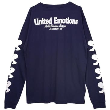 Public Possession United Emotions Long Sleeve T-Shirt - Navy