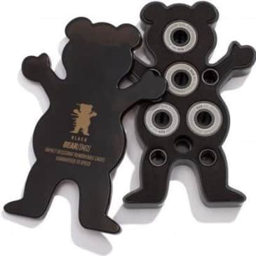 Grizzly Black Skateboard Bear-ings