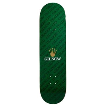 """Gilnow Traders 'Time Piece' Skateboard Deck 8.125"""""""