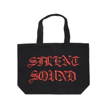 Silent Sound - Silent Sound Tote Bag - Black/Red