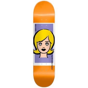 Blind Skateboards Girl Doll (Orange) Skateboard Deck - 8.375