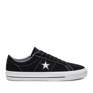 Converse CONS One Star Pro Ox Shoes - Black / White