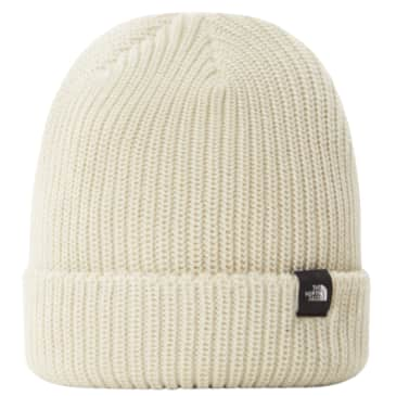 The North Face Fisherman Beanie (Shallow Fit) | Vintage White