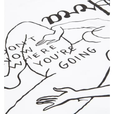 by Parra Not Going T-Shirt - White
