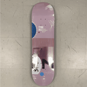 Scumco and Sons Skateboards Tybe All Broadcast Series M Deck 8.5