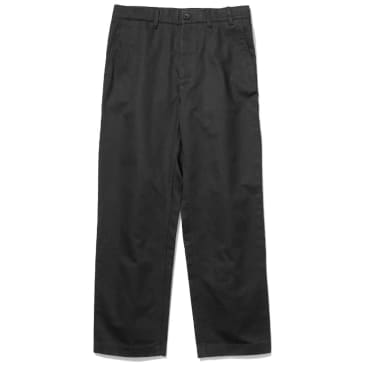 Norse Projects Lukas Wide Trouser - Black