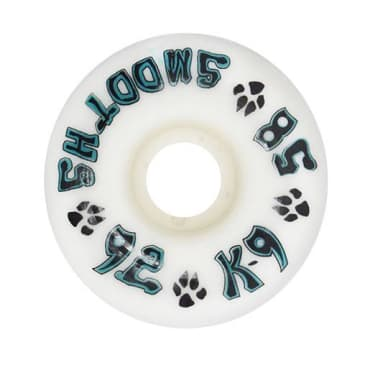 Dogtown Skateboards K-9 Smooths Wheels 58mm x 92a White